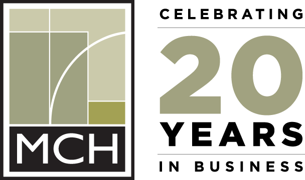 MCH Electric 20 Years Logo